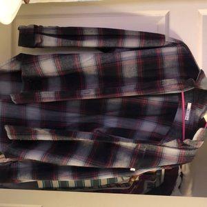 Obey flannel shirt jacket